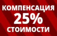 Компенсация 25% стоимости оборудования в рамках государственной поддержки АПК