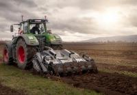 Навесное оборудование для очистки земли на трактор с гидравлическим приводом FAE