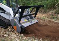 Навесное оборудование для очистки земли на трактор с механическим приводом FAE