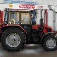 Тракторный кран-манипулятор Vipo Двина (Випо)