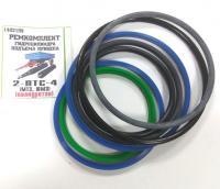 Ремкомплект цилиндра подъема 2ПТС-4 (полиуретановые манжеты)
