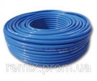 Полиуретановая пневматическая трубка PU 10*6,5 мм, голубая