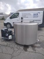 Танк охладитель молока DeLaval, Alfa Laval, Serap на 700, 800, 1000 литров