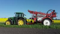 Услуги по внесению жидких комплексных удобрений в почву