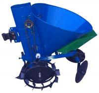 Картофелесажатель мотоблочный  KС-8 с бункером (синий)
