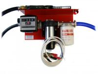 Мини колонка для перекачки дизтоплива 12В 85 л/мин с механ. счетчиком BI-PUMP PIUSI Италия