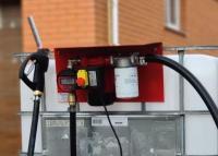 Качественный заправочный модуль с точным счетчиком на еврокуб для дизельного топлива