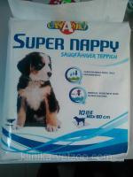 Пеленки для собак и щенков 60х60 10шт в уп.