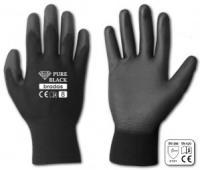 Перчатки садовые Bradas RWPBC8 PURE BLACK латекс, размер 8