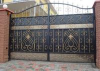 Изготовление металлических ворот монтаж