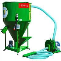 Завод по производству комбикормов, 1500 кг/час