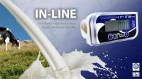 Счетчик молока IN LINE пищевой, Италия