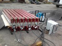 Горячая вулканизация конвейерной ленты 600 мм