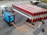 Горячая вулканизация конвейерной ленты 800 мм