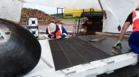 Стыковка транспортерной ленты 1200*5-х/х