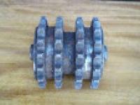 Звездочка обкатная 4-х рядной цепи автогидроподъемника АП-18
