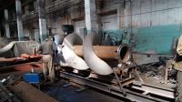 Изготовление спиралей шнеков больших диаметров