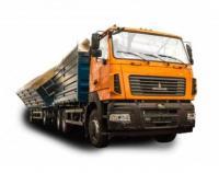 Зерновоз-автопоезд Egritech АСПС-2646 на шасси МАЗ-6501С5
