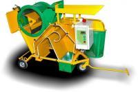 Машина для обмолота и удаления колосковых остей и очистки зерна, клевера, травы на семена