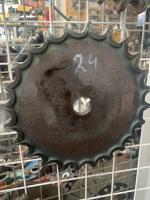 Звёздочка приводная Z-24, t=25,4 (16A-1, 80-1) Венец 24 зубов, шаг 25,4 горячекатаная