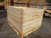 Евроконтейнера деревяные для яблок