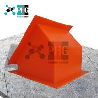 Цельнолитые полиуретановые сектора квадратного сечения (вставка в сектор полиуретановая)