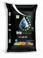 Калийное водорастворимое удобрение DripFertilizer™ 5-5-40+МЭ 25кг Турция