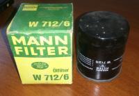 Масляный фильтр Mann W 712/6