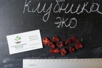 Клубника сушеная 50 грамм домашняя (сушена полуниця) натуральный вяленый сухофрукт