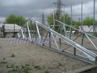 Фермы металлические двухскатные