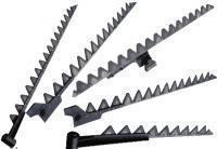 Нож жатки на рапсовый стол боковой левый ( подвижный)