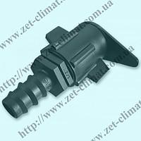 Старт-коннектор для капельной ленты с трубкой 16 мм