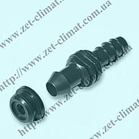 Старт-коннектор для трубки 16мм с прокладкой