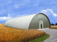 Ангары арочные бескаркасные, зернохранилища