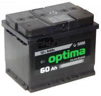 Аккумулятор 6СТ-60 Optima