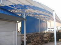 Тентовые покрытия, шторы под заказ