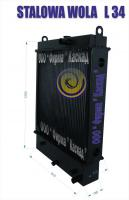 Радиатор охлаждения погрузчика STALOWA WOLA L-34