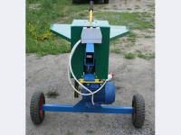 Электромеханический дровокол (колун).