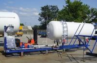 Модульные конструкции для розничной реализации сжиженного газа, топлива