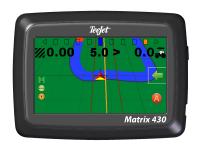 Система параллельного вождения Teejet Matrix 430 с антенной RXA 30
