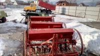 Сеялка 1,5 м для мини трактора