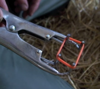 Щипцы для кастрации резиновыми кольцами