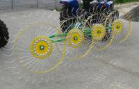 Грабли-ворошилка «Солнышко» 4-х колесные