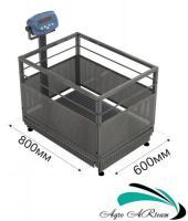 Весы для взвешивания поросят от 1 до 300 кг, размер платформы 600* 800 мм